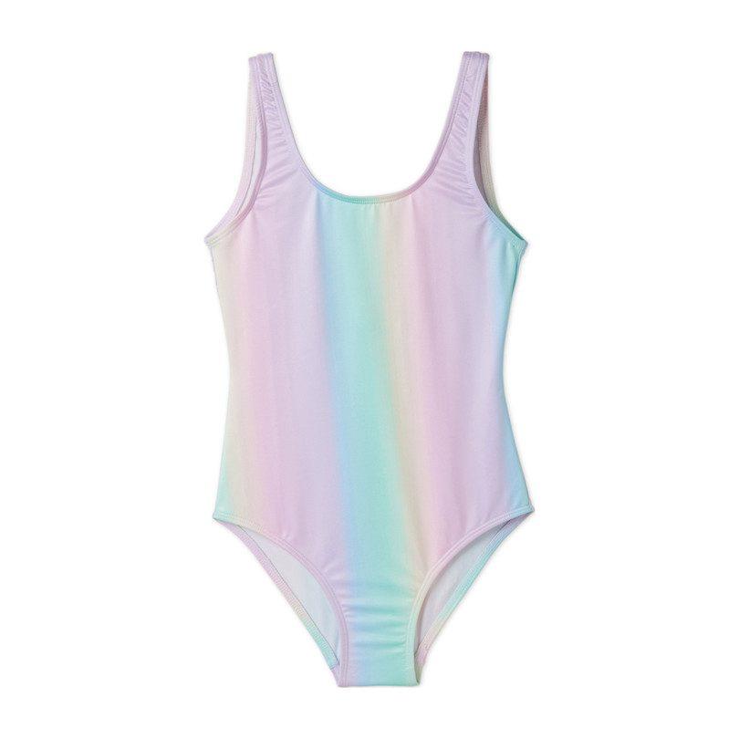 dede825ef9 Pastel Rainbow Swimsuit - Swim - Maisonette