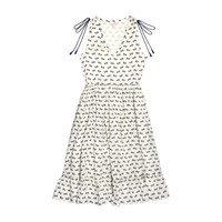 *Exclusive* Womens Laurel Dress, Antique White