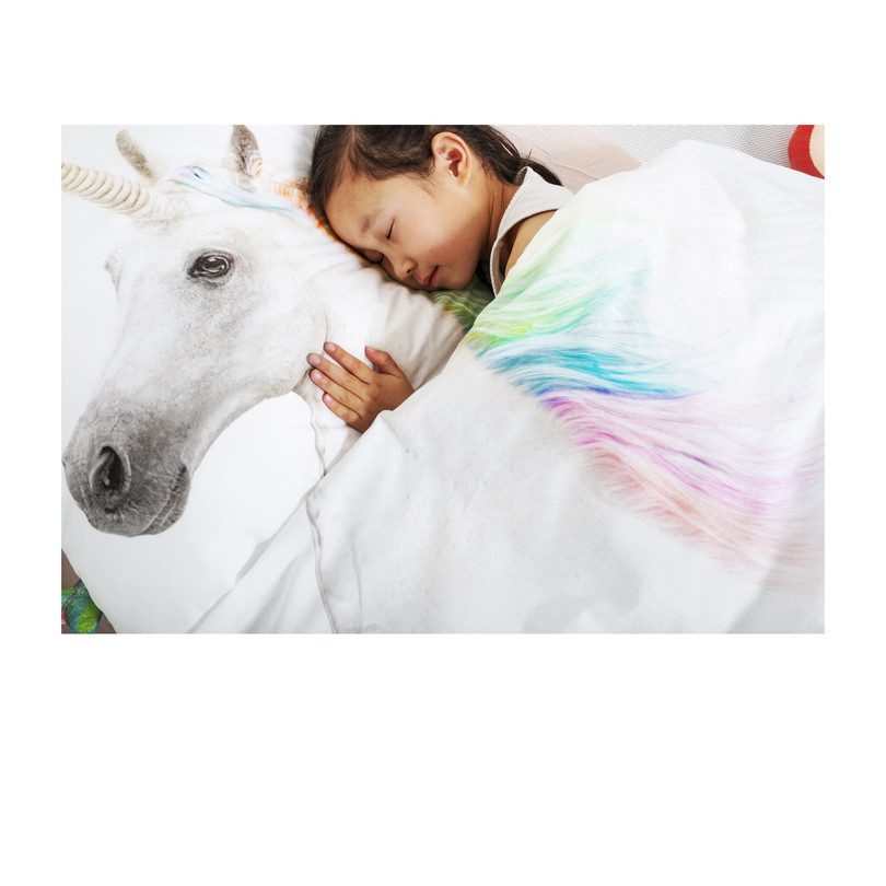 Rainbow Unicorn Duvet Set