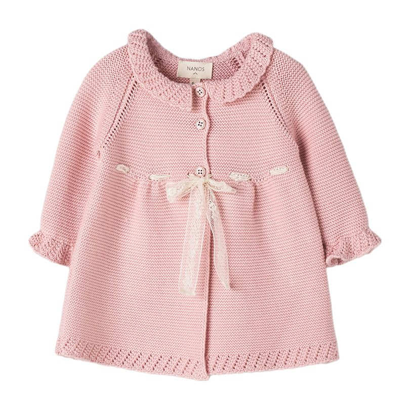 Baby Knit Coat, Pink