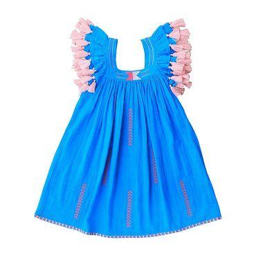 Serena Dress, Turquoise