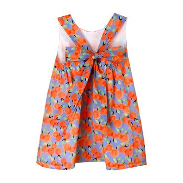 Cotton Peaches Sundress, Multi