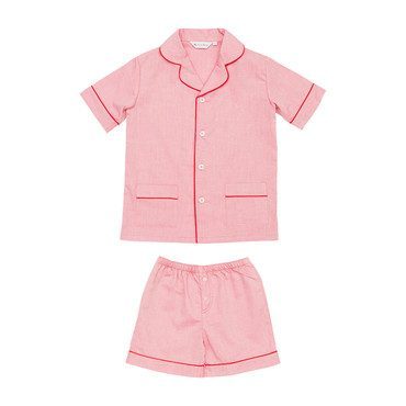Damien Pyjamas Set, Red