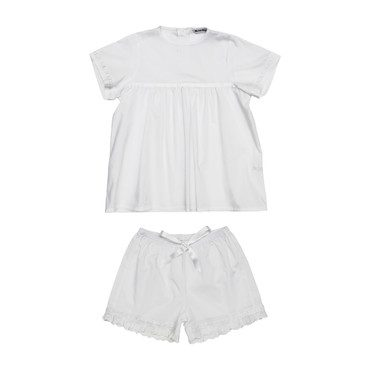 Bianca Pyjamas Set, White