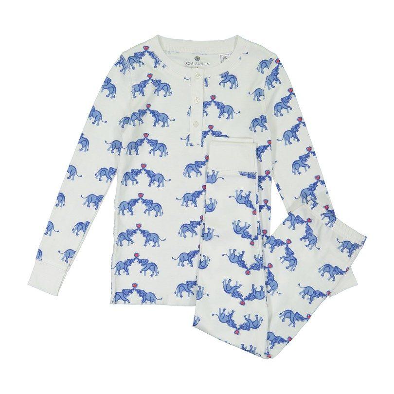 Ro's Garden Cameron Pajamas, Love & Kisses