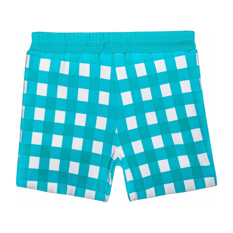 *Exclusive* Boy Shorts, Mint Gingham