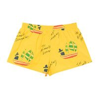 Puppy Swimsuit, Yellow Ships