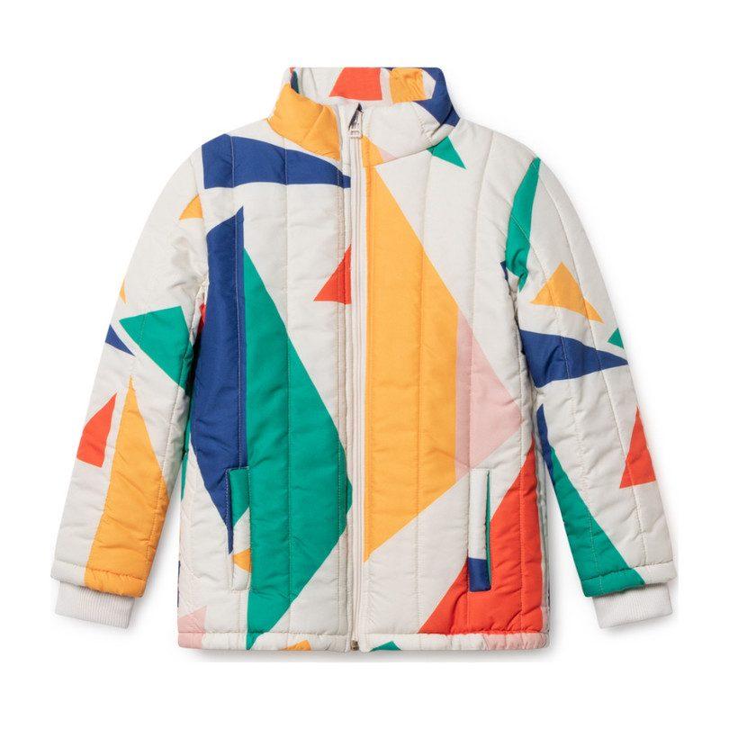 Geometric Padded Jacket