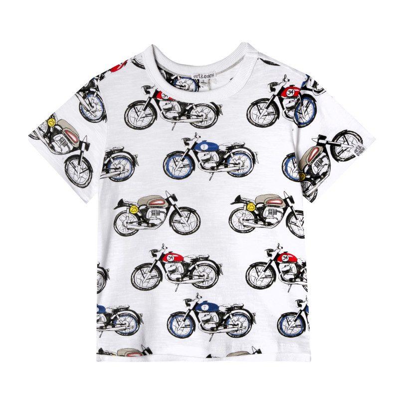 Noah T-Shirt, Moto Bike Print