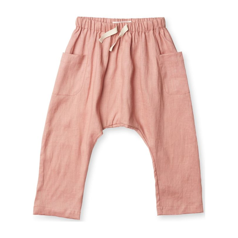 Blaise Harem Trousers, Tea Rose