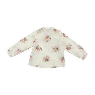 Floral Cluster Shirt, Pink