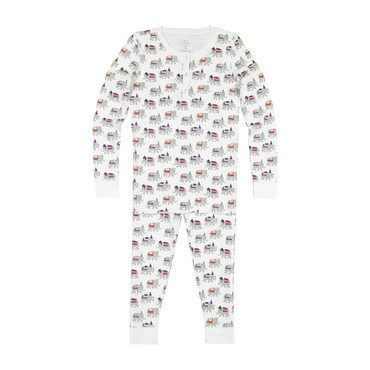 Kids Party Animal Pajamas, Grey