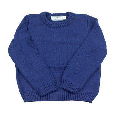 Colin Crewneck Sweater, Navy