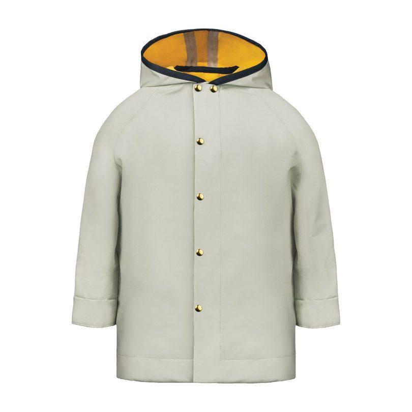 The Midi Raincoat, Mint