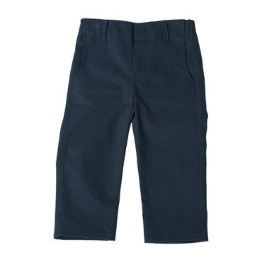 Slim Twill Trousers, Soft Navy