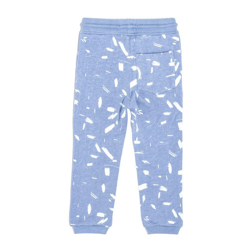 Joggers, Blue Doodle