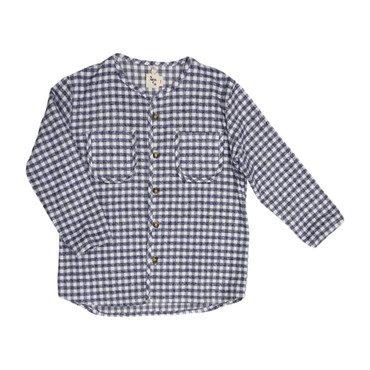 Becker Shirt, Grey Plaid