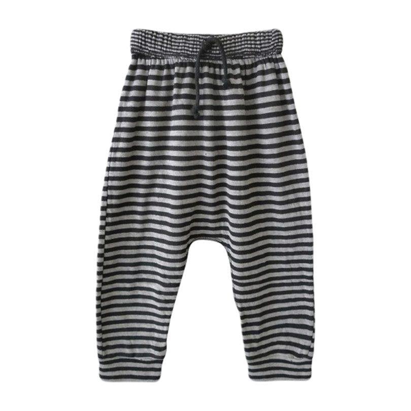 d40713e3a84 Stone Harem Pants, Black Stripes - Pants - Maisonette