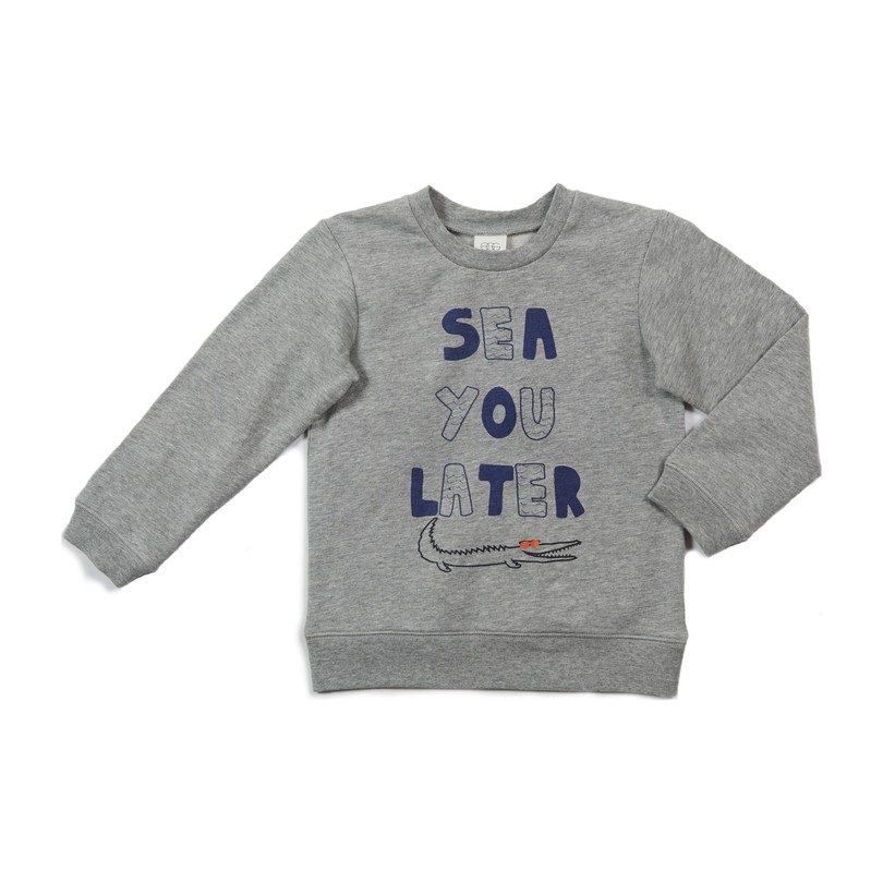 Milo Sweatshirt, Grey
