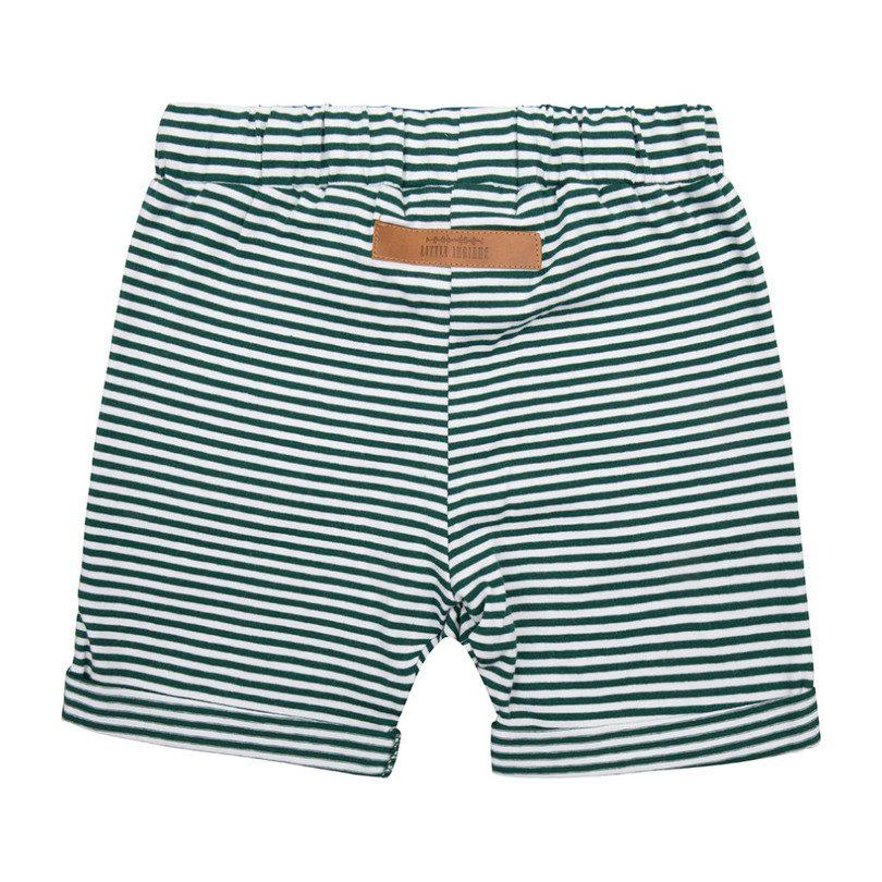 Knit Short, Forest Stripe