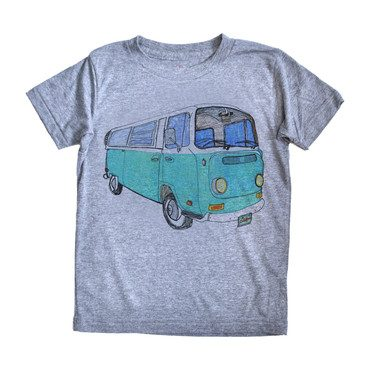 VW Bus T-Shirt, Grey
