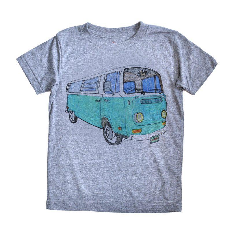VW Bus T-Shirt, Grey