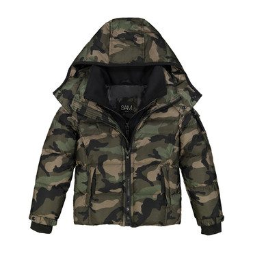 Toddler Camo Racer, Olive