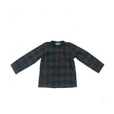 Hector Shirt, Green Plaid