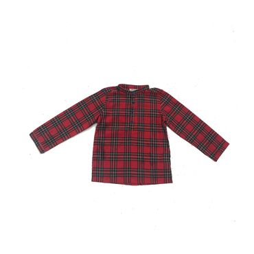 Hector Shirt, Red Plaid