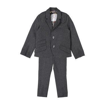 Wool Suit, Grey
