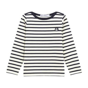 Child Striped Long Sleeve, Blue & White