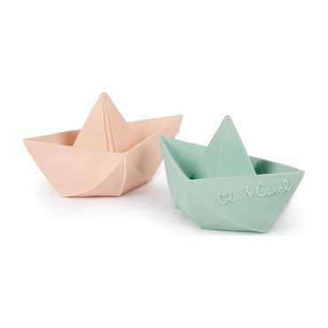 Origami Mint Boat