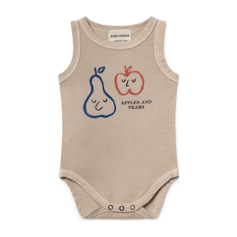 0e8aabb0ced Baby · Girl Clothing · Rompers. Apples and Pears Tank Onesie