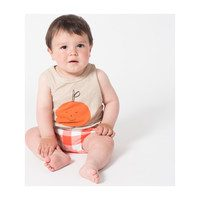 Tangerine Dreams Linen Tank, Feather Grey