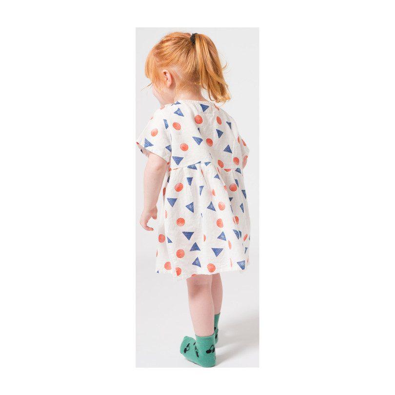 Baby Pollen Princess Dress, Blanc de Blanc