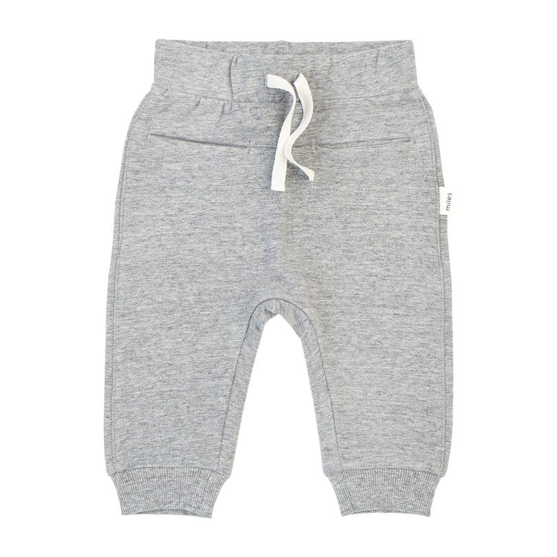 Miles Basic Jogger, Grey Mix