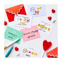 Positive Valentine Message Cards