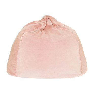 Velvet Beanbag Chair Cover, Peach Skin