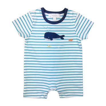 Crochet Blue Whale Babyvest