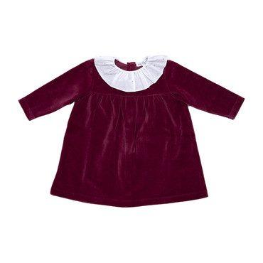 *Exclusive* Lorena Dress, Beet Red