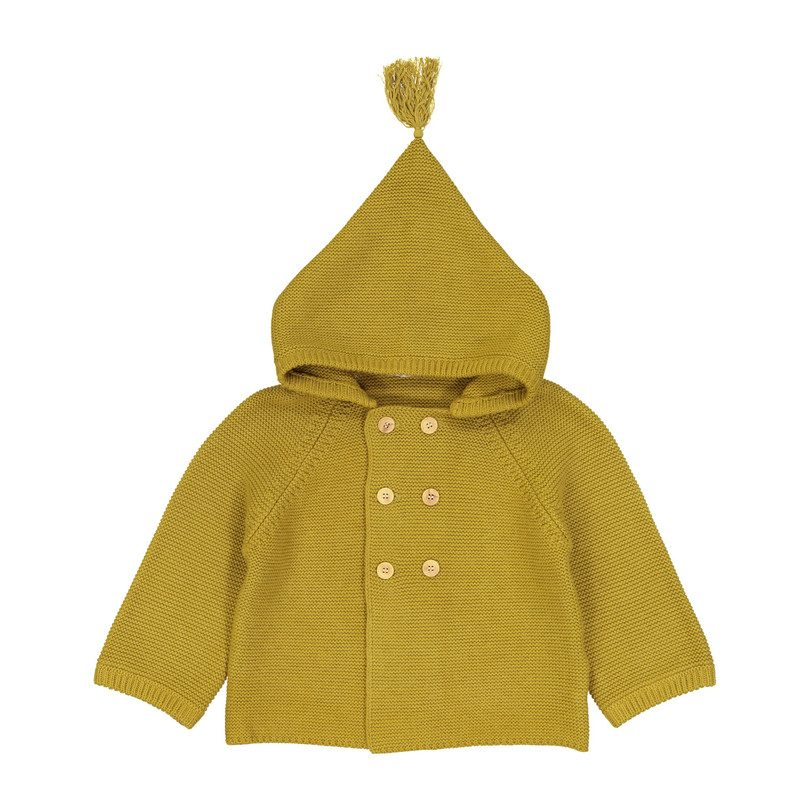 Baby Bernard Coat, Curry