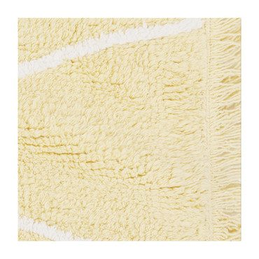 Hippy Washable Rug, Yellow