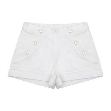 Carmen Shorts, White