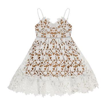 Cherry Blossom Dress, Ivory