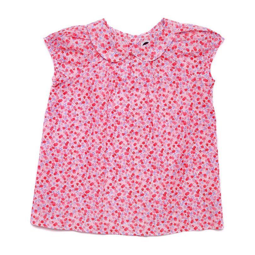 Clara Shirt, Pink Floral