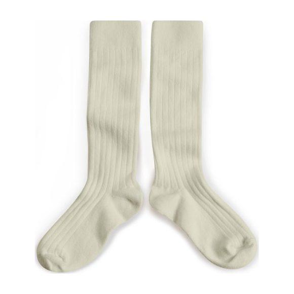 Collegien Knee High Socks, Cream