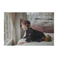 Cleo Dress, Magic Forest Print