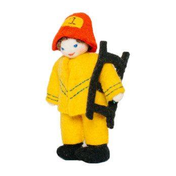 Felt Firefighter Kid