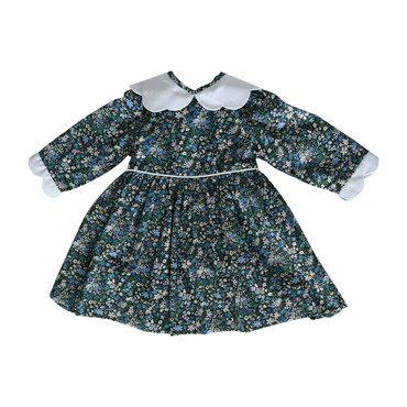 Cucu Dress, Green Liberty
