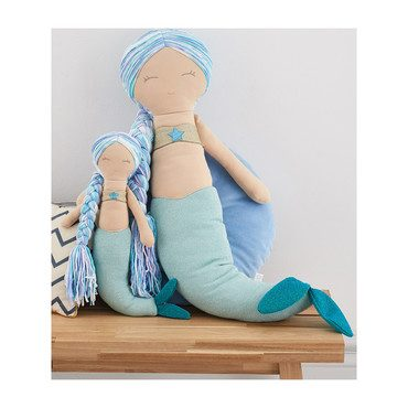 Sparkle Mermaid Doll, Large